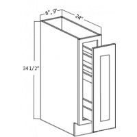 SPICE PULL BASE CABINET 1 FULL HEIGHT DOOR (3-LEVEL)